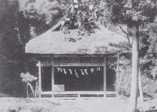 大正8年当時の「昔の王子神社」